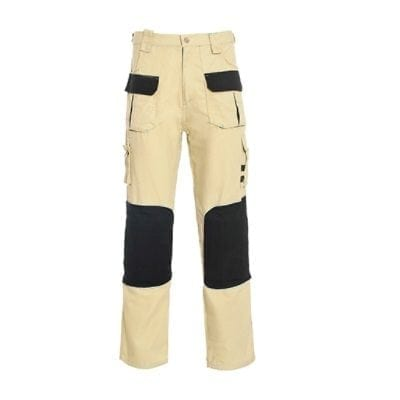 """מכנסי דגמ""""ח עם מגיני ברכיים 9 כיסים – באז'"""