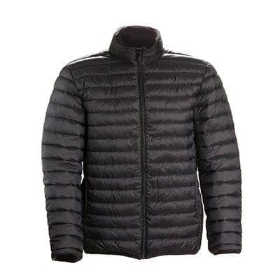 מעיל שרוול ארוך משקל נוצה – שחור