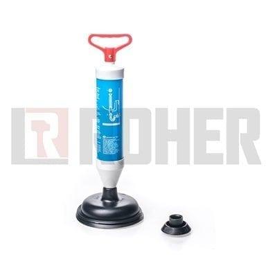 מכשיר ידני משאבת אויר לשחרור סתימות בכיור דגם ROHER-TOOLS 08