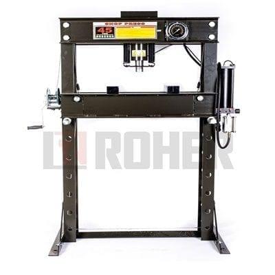 מכבש מוסכים 45 טון אויר/שמן דגם ROHER-TOOLS R