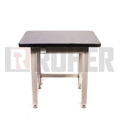 """שולחן מעמס כבד 90X75 ס""""מ דגם 0975 אפור ROHER PRO"""