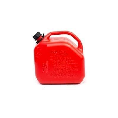 מיכל דלק 10 ליטר פלסטיק +משפך גמיש ROHER-TOOLS