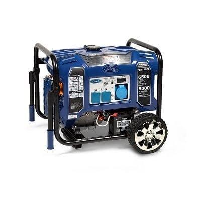 גנרטור מנוע FORD כולל AVR מייצב מתח הספק 6500W ידנית סטרטר