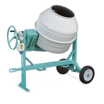 """מערבל בטון 350 ליטר תוצרת איטליה IMER, משקל:175 ק""""ג"""