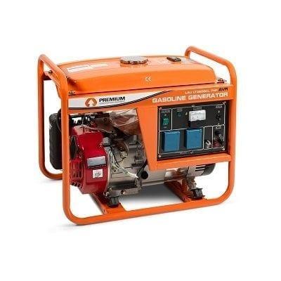 גנרטור מנוע בנזין כולל AVR מייצב מתח הספק 5500W ידני סטרטר PREMIUM