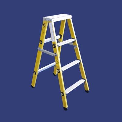 סולם משענת מפיברגלס – מקצוענים סולמות חגית