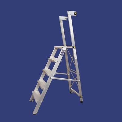 סולם מדרגות מתקפל מאלומיניום – מקצוענים סולמות חגית