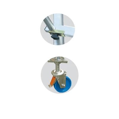 פיגום אלומיניום נייד מקצועי – דגם קראוזה סולמות חגית