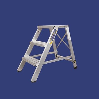 סולם מדרגות קבוע מאלומיניום – מקצוענים סולמות חגית