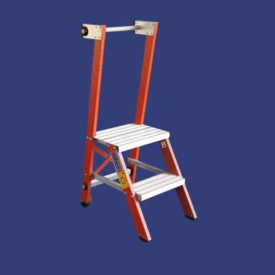 סולם מדרגות קבוע מפיברגלס – מקצוענים סולמות חגית