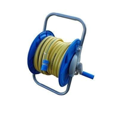 צינור השקיה 5 שכבות 20 מטר + גלגלת + מחברים