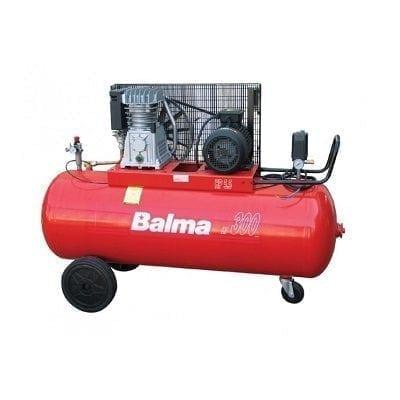 "מדחס 300 ליטר 5.5 כ""ס 400V עם רצועה BALMA B22009"