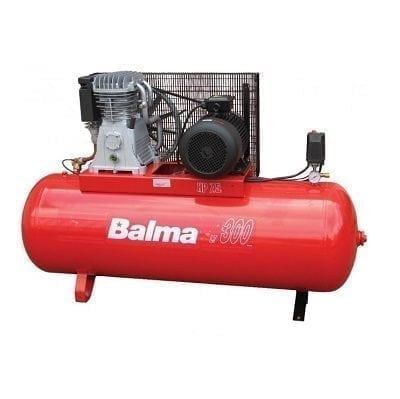 "מדחס 300 ליטר 7.5 כ""ס 400V עם רצועה BALMA B22010"
