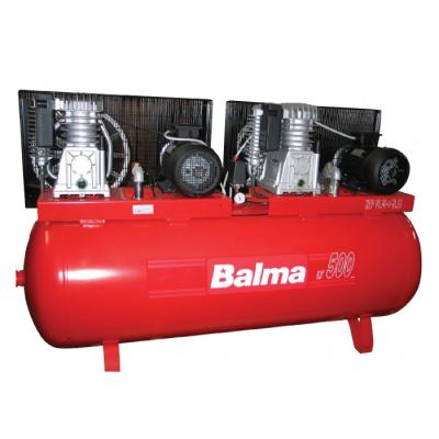 """מדחס 500 ליטר 5.5X2 כ""""ס 400V כולל לוח פיקוד BALMA B22207"""