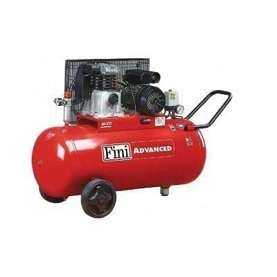 """מדחס 100 ליטר 2 כ""""ס 230V עם רצועה FINI MK102"""