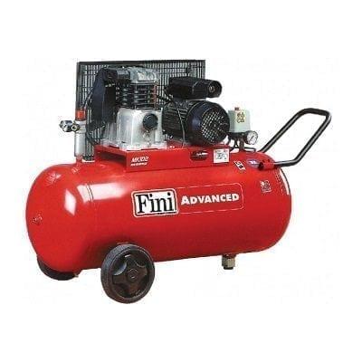 """מדחס 100 ליטר 3 כ""""ס 230V עם רצועה FINI MK102"""