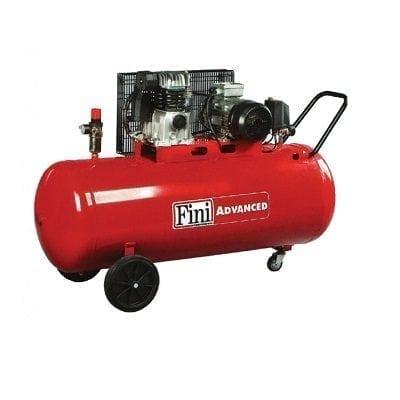 """מדחס 200 ליטר 3 כ""""ס 230V עם רצועה FINI MK102"""