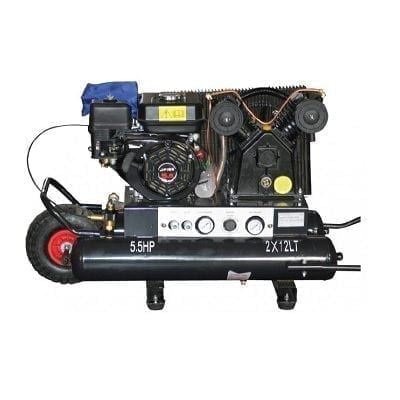 "מדחס עם מנוע בנזין 5.5 כ""ס KARNAF TV30G5524"