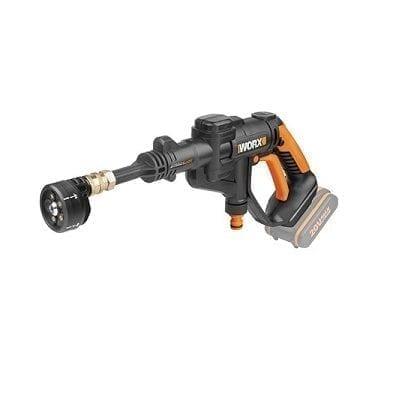 מכשיר שטיפה בלחץ 20V+אביזרים-גוף בלבד! WORX WG629E.91
