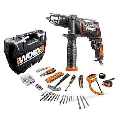 מקדחה רוטטת 600W 13mm + 112 חלקים WORX WX317.3