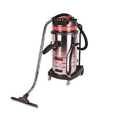 שואב אבק מקצועי איכותי יבש/רטוב נירוסטה 80 ליטר דגם Target T11810