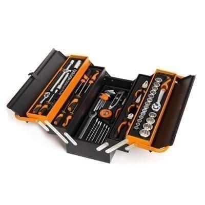 ארגז כלים 88 חלקים KENDO הרמוניקה פתיחה מדורג