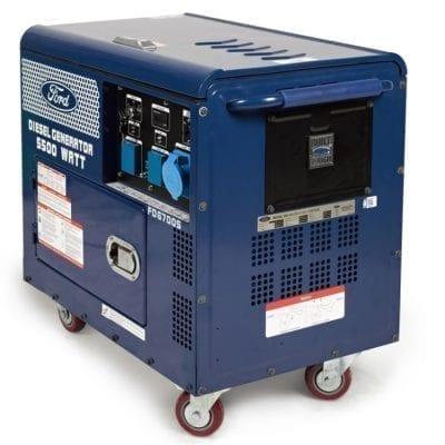 גנרטור FOR FD6700S – דיזל מושתק כולל AVR (מייצב מתח)