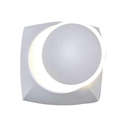 מנורת קיר לד WW 6W MOON לבן SEMICOM