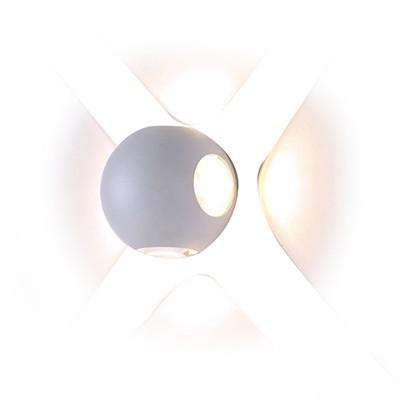 מנורת קיר לד WW TIPO לבן SEMICOM