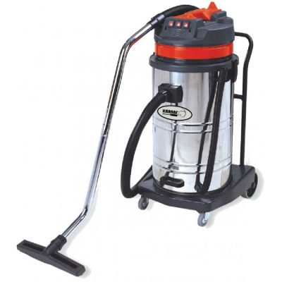 שואב אבק 80 ליטר יבש/רטוב מיכל נירוסטה – KARNAF BF585/3