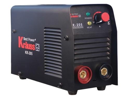 רתכת אלקטרונית מקצועית 200A כולל מזוודה ומסיכת ריתוך – KRAUSS KR-250A