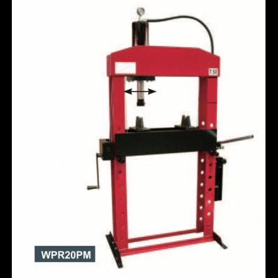 מכבש הידראולי 20 טון גבוה 2 מהירויות איטלקי – WERTHER WPR20PM