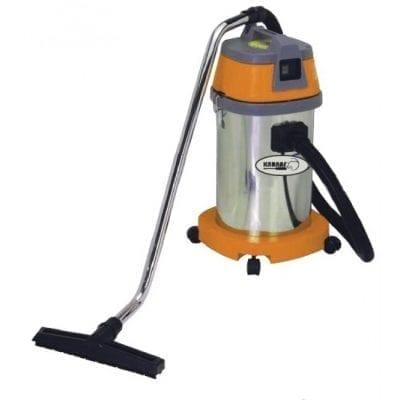 שואב אבק 30 ליטר יבש/רטוב מיכל נירוסטה – KARNAF BF501