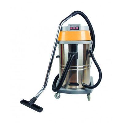 שואב אבק 80 ליטר יבש/רטוב מיכל נירוסטה – KARNAF CC 80L
