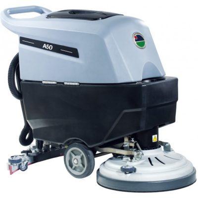 מכונת שטיפה לרצפות מונעת מצברים – KARNAF A50